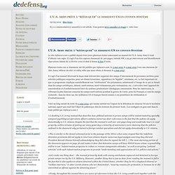 """L'U.S. Army prête à """"rééduquer"""" le dissident US en citoyen-Système"""