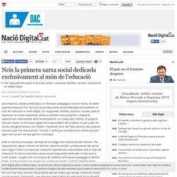 Neix la primera xarxa social dedicada exclusivament al món de l'educació