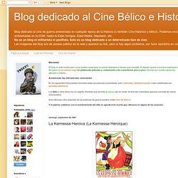 Blog dedicado al Cine Bélico e Histórico: La Kermesse Heroica (La Kermesse Héroïque)