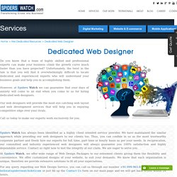 Hire Dedicated Web Designers