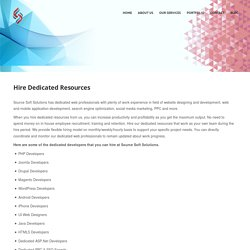 Hire Dedicated Web Developer