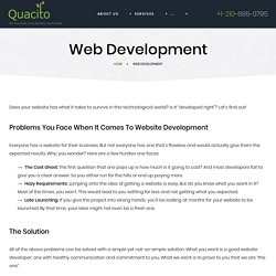Get affordablePHP development San Antonio with Quacito LLC