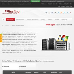 Best Dedicated Server Hosting UK