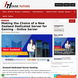 New Zealand Dedicated Server with security and robust infrastructure