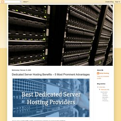Getty Hosting: Dedicated Server Hosting Benefits – 5 Most Prominent Advantages
