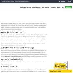 Best dedicated server hosting India