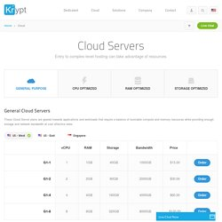 Dedicated Cloud Server, Virtual Server Hosting, VMware Hosting Provide - Krypt.com