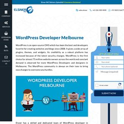 Hire Dedicated WordPress Web Developers in Melbourne