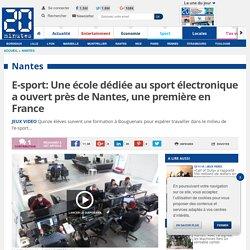E-sport: Une école dédiée au sport électronique a ouvert près de Nantes, une première en France