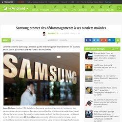 Samsung promet des dédommagements à ses ouvriers malades