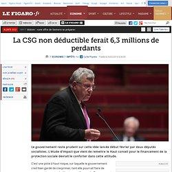 La CSG non déductible ferait 6,3millions de perdants