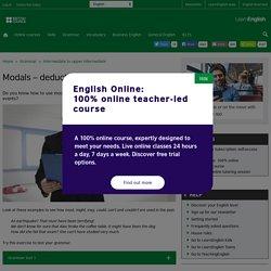 Grammar - Intermediate to upper intermediate
