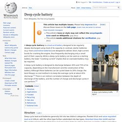 Deep cycle battery - Wikipedia