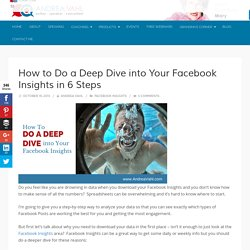 How to Do a Deep Dive into Your Facebook Insights in 6 Steps