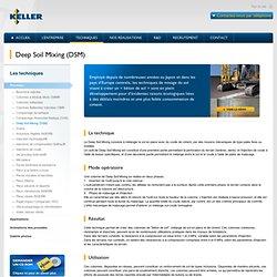 Deep Soil Mixing (DSM)