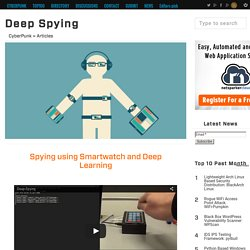 Deep Spying