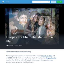 Deepak Kochhar: The Man with a Plan
