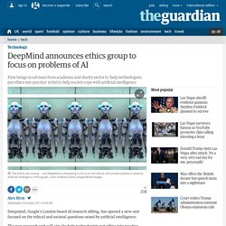 DeepMind announces ethics group to focus on problems of AI