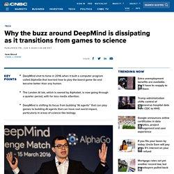 Google DeepMind buzz dissipates after AlphaGo highs