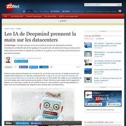 20 août 2018 - Les IA de Deepmind prennent la main sur les datacenters