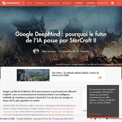 Google DeepMind : pourquoi le futur de l'IA passe par StarCraft II - Sciences