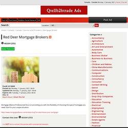 Red Deer Mortgage Brokers - Canada , Canada