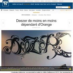 Deezer de moins en moins dépendant d'Orange