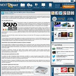 Deezer s'infiltre dans les McDo grâce à Sound Deezer