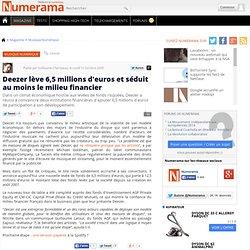 Deezer lève 6,5 millions d'euros et séduit au moins le mili