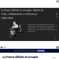 La France défaite et occupée by Estelle Gilet on Genial.ly