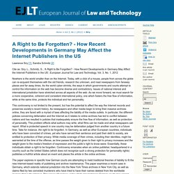 ONLINE ARCHIVES: Finding a Common Ground in the Quicksand of Online Defamation Developments.