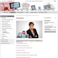 La semaine des médias (Suisse) : vidéos et fiches pédagogiques