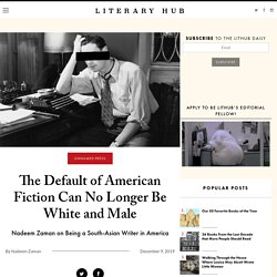 The Default of American Fiction Can No Longer Be White and Male