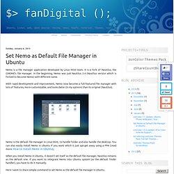 Set Nemo as Default File Manager in Ubuntu