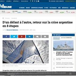 D'un défaut à l'autre, retour sur la crise argentine en 8 étapes
