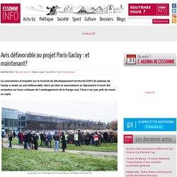 Avis défavorable au projet Paris-Saclay : et maintenant ?