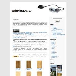 www.defcon-x.de » Textures
