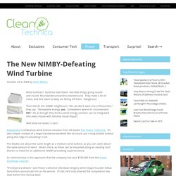 The New NIMBY-Defeating Wind Turbine – CleanTechnica: Cleantech innovation news and views