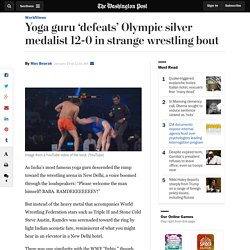 Yoga guru 'defeats' Olympic silver medalist 12-0 in strange wrestling bout
