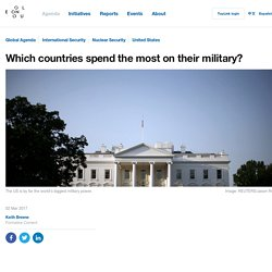 The US spends more on defence than all of these countries combined