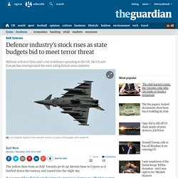 Defence industry's stock rises as state budgets bid to meet terror threat