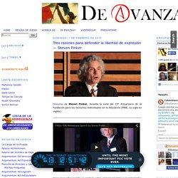 Tres razones para defender la libertad de expresión — Steven Pinker ~ De Avanzada