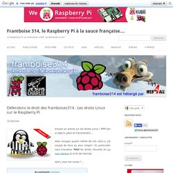 Défendons le droit des framboises314 : Les droits Linux sur le Raspberry Pi