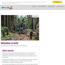 Défendons la forêt