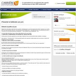 Méthode de vente-Défendre et justifier son prix - Carrière Commerciale - Page 1