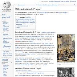 Défenestration de Prague