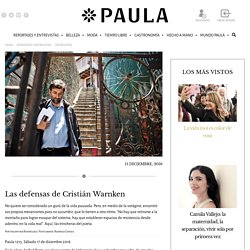 Las defensas de Cristián Warnken - Revista Paula