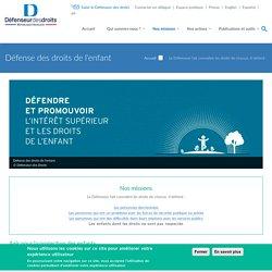 Défense des droits de l'enfant