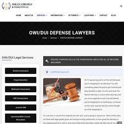 OWI/DUI DEFENSE LAWYERS