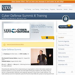 Cyber Defense Summit & Training (Nashville, TN)